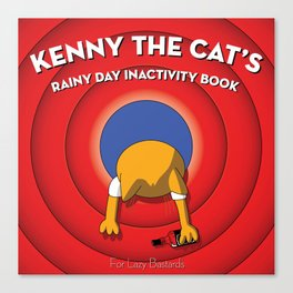 Kenny the Cat Canvas Print