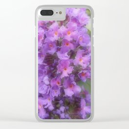 Buddleia Power Clear iPhone Case