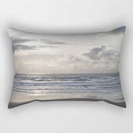 Silver Scene Rectangular Pillow