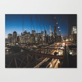 Exploring New York Canvas Print