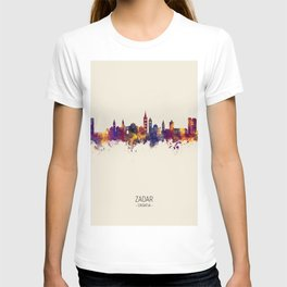 Zadar Croatia Skyline T-shirt