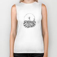 bastille Biker Tanks featuring Bastille by hardyboys