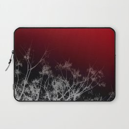 Tree Top-Red Laptop Sleeve
