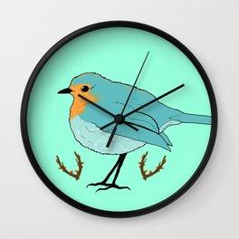 Fat birdy Wall Clock