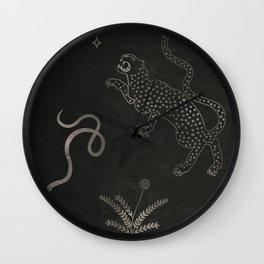 Desert Prey Ink Wall Clock