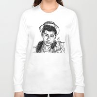 zayn malik Long Sleeve T-shirts featuring Zayn Malik by Hollie B