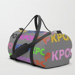 KPOP Sketch Duffle Bag