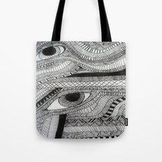 2 eyes Tote Bag