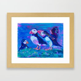 Psst, Don't Look Now, But Framed Art Print
