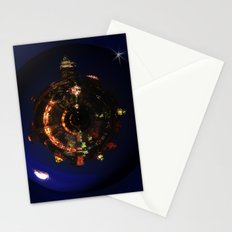 Manhattan Island Moonlight Stationery Cards
