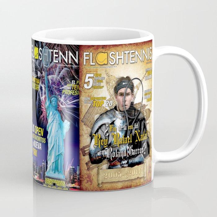 Tennis Magazine Covers Coffee Mug