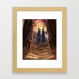 Wayward Wanderer Framed Art Print