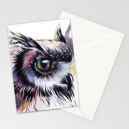A gaze to infinity Stationery Cards