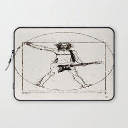 Guitar Man and Da Vinci Laptop Sleeve