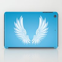wings iPad Cases featuring wings by Li-Bro