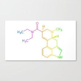 Chemical Formula Canvas Print