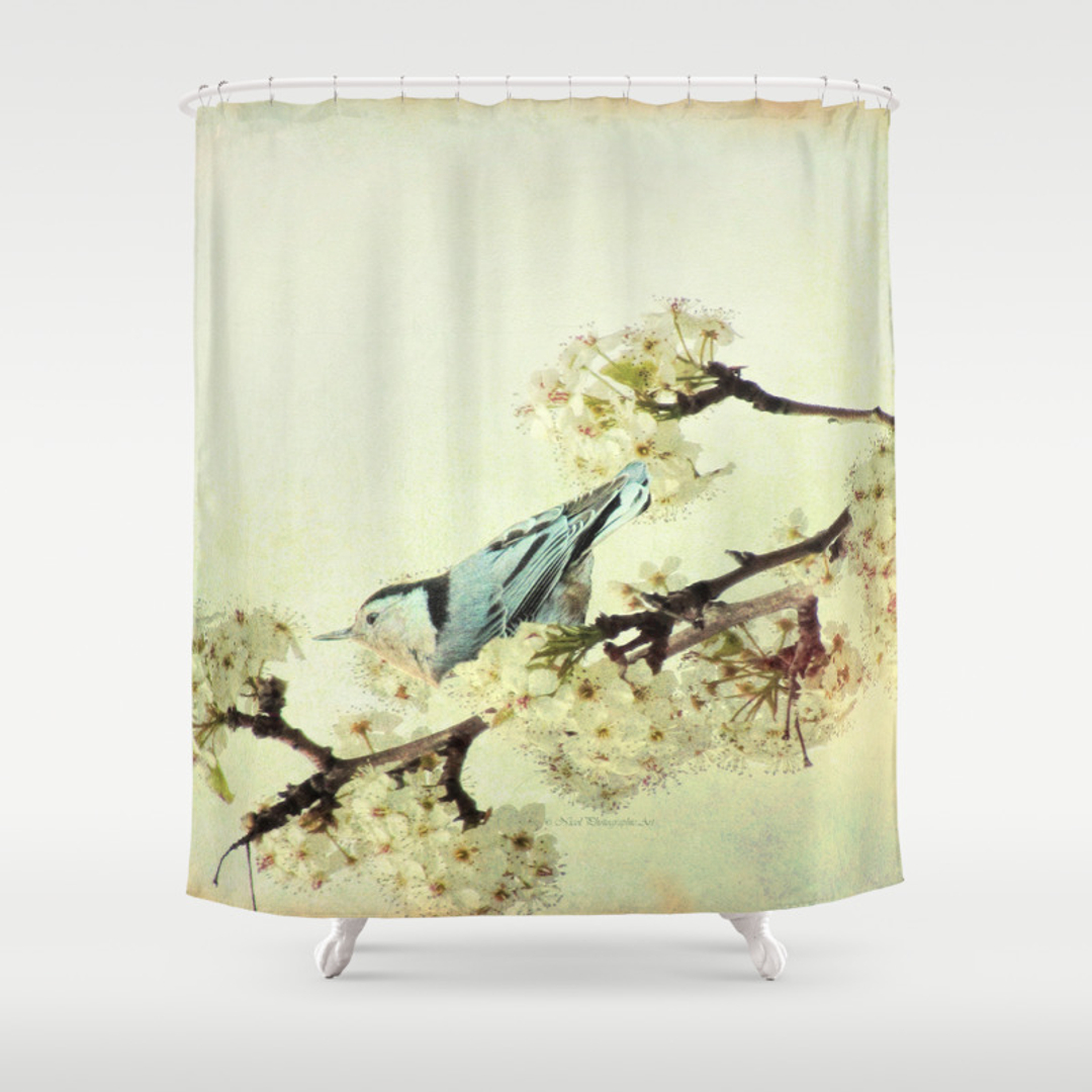 curtains dieter shower juniqe braun curtain grey heron by as uk bird