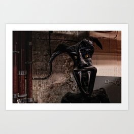 Who´s Afraid Of The Boogeyman? Art Print