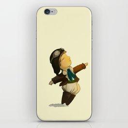 Amelia Earhart  iPhone Skin