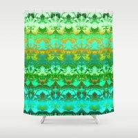 zen Shower Curtains featuring Zen. by Assiyam