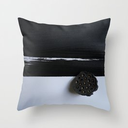 Sundried Lotus Pod Throw Pillow