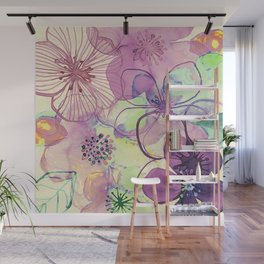 FLORAL PATTERN30 Wall Mural