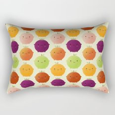 Cutie Fruity (Watercolour) Rectangular Pillow