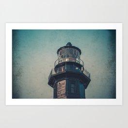 New Cape Henry Lantern Room Chesapeake Bay Virginia East Coast Lighthouse Art Print
