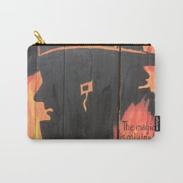Burnt Pages Carry-All Pouch