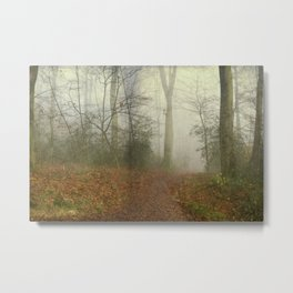 alterNatives - forest panorama Metal Print