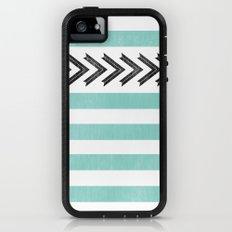 ARROW STRIPE {TEAL} Adventure Case iPhone (5, 5s)