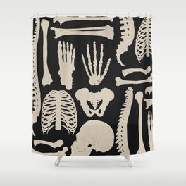 Osteology Shower Curtain