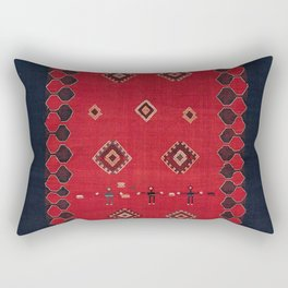Azeri South Caucasus Azerbaijan Flatwoven Cover Rectangular Pillow