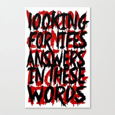 Wisdom.. Canvas Print