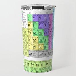 Tabla Periodica De Los Elementos (Periodic Table of Elements in Spanish) Travel Mug