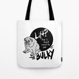 Bulky Pug Tote Bag