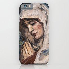 Ave Maria iPhone Case