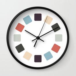 Twisty Tiles Wall Clock