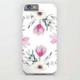 Floral Square iPhone Case