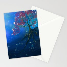 Memories Make Us Glow, fantasy painting Stationery Cards