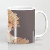 apollo Mugs featuring Apollo I by chazstity