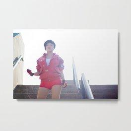 Stella Chuu as Kaneda from Akira Metal Print