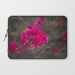 Bougie with the Bougainvillea Laptop Sleeve