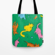 Charming Cats Tote Bag