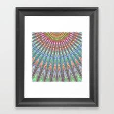 Heavenly sky Framed Art Print