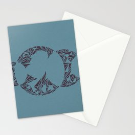 Lunacy (Blue) Stationery Cards