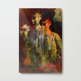 The ghost of the son Olsen Metal Print