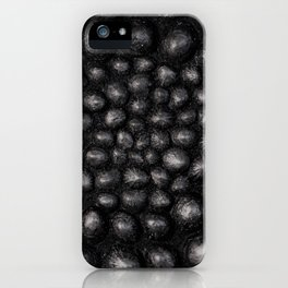 Denim Silver Sea Shell iPhone Case
