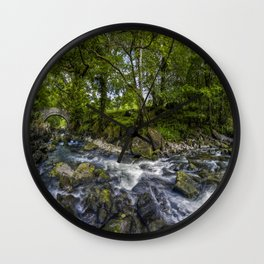River Conwy Wall Clock