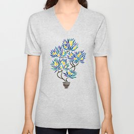 Bonsai Fruit Tree – Lemons Unisex V-Neck